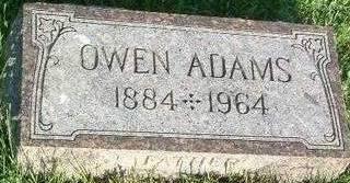 ADAMS, OWEN - Mills County, Iowa | OWEN ADAMS