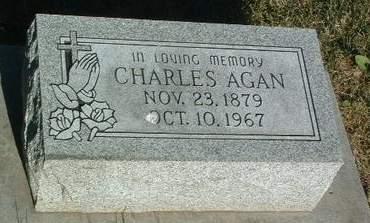 AGAN, CHARLES - Mills County, Iowa | CHARLES AGAN