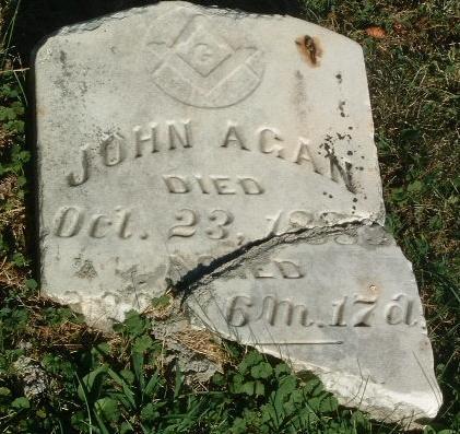 AGAN, JOHN - Mills County, Iowa   JOHN AGAN
