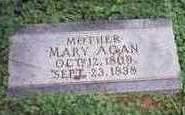 WEATHERS AGAN, MARY - Mills County, Iowa | MARY WEATHERS AGAN