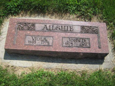 AILSHIE, JOHN D. - Mills County, Iowa | JOHN D. AILSHIE