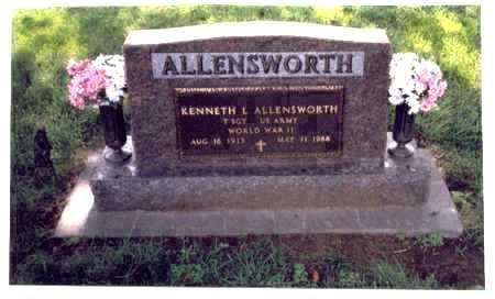 ALLENSWORTH, KENNETH L - Mills County, Iowa | KENNETH L ALLENSWORTH