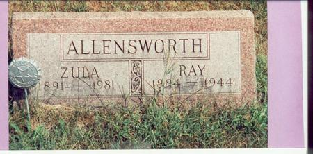 ALLENSWORTH, ZULA - Mills County, Iowa | ZULA ALLENSWORTH