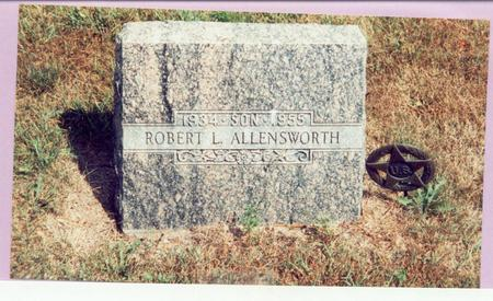 ALLENSWORTH, ROBERT L. - Mills County, Iowa | ROBERT L. ALLENSWORTH