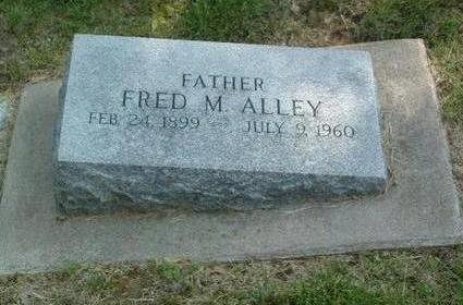 ALLEY, FRED M. - Mills County, Iowa   FRED M. ALLEY