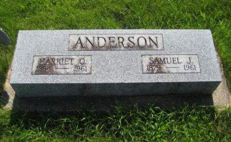 ANDERSON, SAMUEL J. - Mills County, Iowa | SAMUEL J. ANDERSON