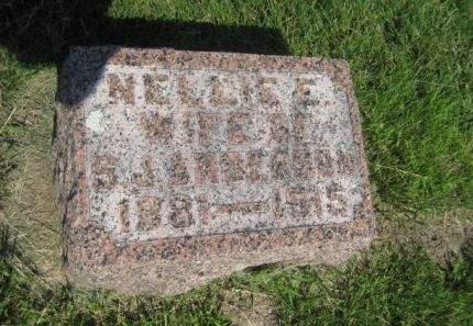 ANDERSON, NELLIE - Mills County, Iowa   NELLIE ANDERSON