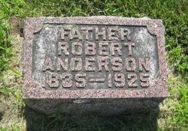 ANDERSON, ROBERT - Mills County, Iowa   ROBERT ANDERSON