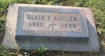 ANGLEN, OLLIE F. - Mills County, Iowa | OLLIE F. ANGLEN