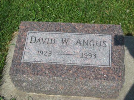 ANGUS, DAVID W. - Mills County, Iowa | DAVID W. ANGUS