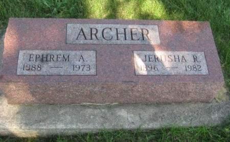 ARCHER, EPHREM A. - Mills County, Iowa | EPHREM A. ARCHER