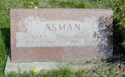 ASMAN, GUY ELWIN - Mills County, Iowa | GUY ELWIN ASMAN