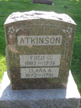 ATKINSON, CLARA A. - Mills County, Iowa   CLARA A. ATKINSON