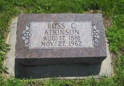 ATKINSON, ROSS C. - Mills County, Iowa | ROSS C. ATKINSON