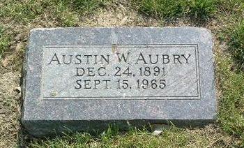 AUBRY, AUSTIN W. - Mills County, Iowa | AUSTIN W. AUBRY