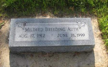 AUTH, MILDRED - Mills County, Iowa | MILDRED AUTH