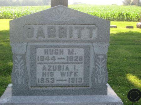 BABBITT, AZUBIA I. - Mills County, Iowa   AZUBIA I. BABBITT