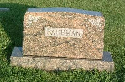 BACHMAN, FAMILY HEADSTONE - Mills County, Iowa   FAMILY HEADSTONE BACHMAN