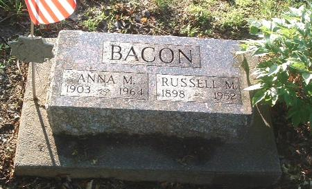 BACON, RUSSELL M. - Mills County, Iowa | RUSSELL M. BACON