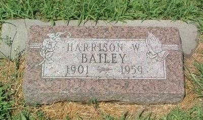 BAILEY, HARRISON W. - Mills County, Iowa | HARRISON W. BAILEY