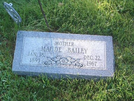 BAILEY, MAUDE - Mills County, Iowa | MAUDE BAILEY