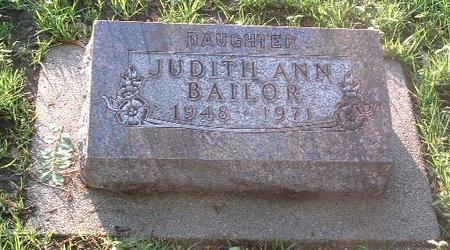 BAILOR, JUDITH ANN - Mills County, Iowa | JUDITH ANN BAILOR