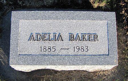 WADHAMS BAKER, ADELIA - Mills County, Iowa | ADELIA WADHAMS BAKER