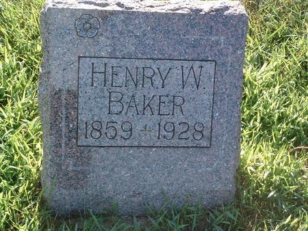 BAKER, HENRY A. - Mills County, Iowa | HENRY A. BAKER