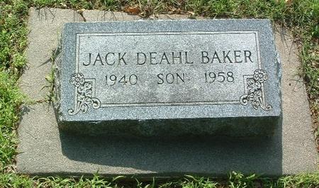 BAKER, JACK DEAHL - Mills County, Iowa | JACK DEAHL BAKER