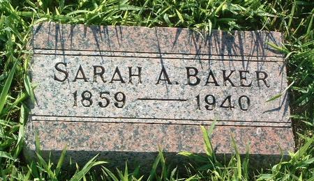 BAKER, SARAH A. - Mills County, Iowa | SARAH A. BAKER