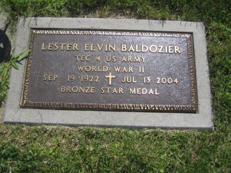 BALDOZIER, LESTER ELVIN - Mills County, Iowa | LESTER ELVIN BALDOZIER