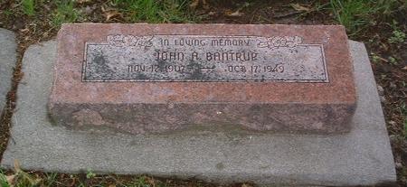 BANTRUP, JOHN A. - Mills County, Iowa | JOHN A. BANTRUP