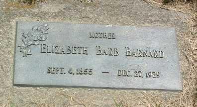 BARNARD, ELIZABETH BARB - Mills County, Iowa | ELIZABETH BARB BARNARD
