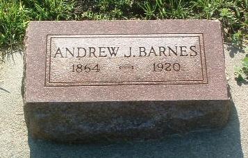 BARNES, ANDREW J. - Mills County, Iowa   ANDREW J. BARNES