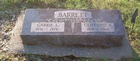 BARRETT, CLIFFORD A. - Mills County, Iowa | CLIFFORD A. BARRETT