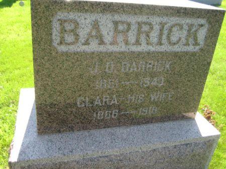 BARRICK, CLARA - Mills County, Iowa | CLARA BARRICK