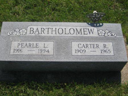 BARTHOLOMEW, CARTER R. - Mills County, Iowa | CARTER R. BARTHOLOMEW