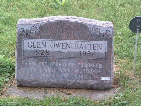 BATTEN, GLEN OWEN - Mills County, Iowa | GLEN OWEN BATTEN