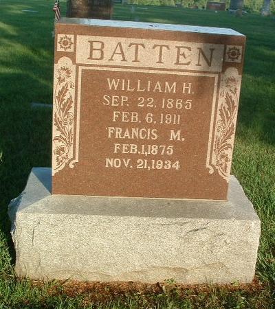 BATTEN, FRANCIS M. - Mills County, Iowa | FRANCIS M. BATTEN