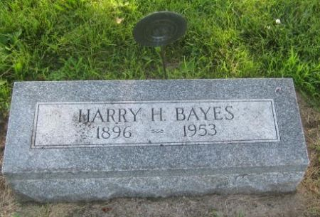 BAYES, HARRY H. - Mills County, Iowa   HARRY H. BAYES