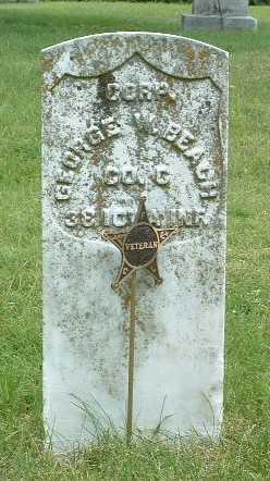 BEACH, GEORGE W. - Mills County, Iowa | GEORGE W. BEACH