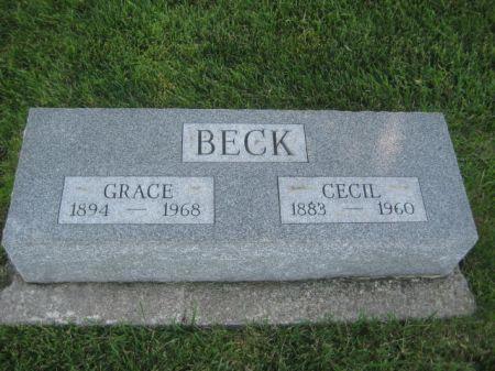 BECK, GRACE - Mills County, Iowa   GRACE BECK