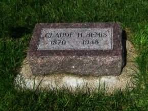 BEMIS, CLAUDE H. - Mills County, Iowa | CLAUDE H. BEMIS