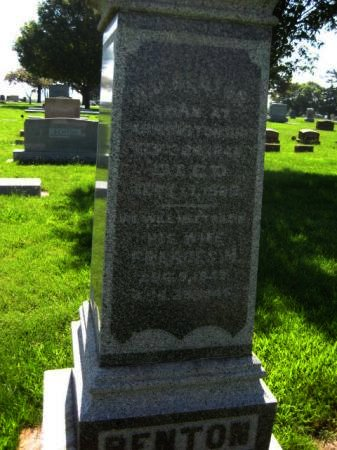 BENTON, HURLBURT U. - Mills County, Iowa | HURLBURT U. BENTON