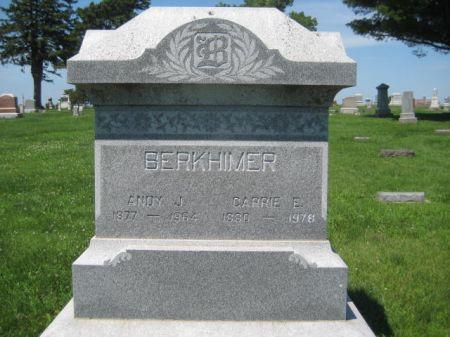 BERKHIMER, ANDY J. - Mills County, Iowa   ANDY J. BERKHIMER