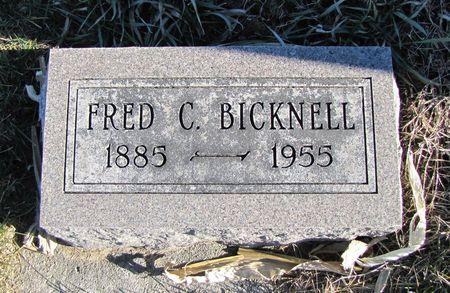 BICKNELL, FRED C - Mills County, Iowa | FRED C BICKNELL
