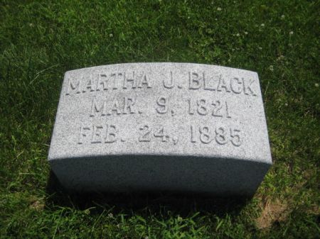 BLACK, MARTHA J. - Mills County, Iowa | MARTHA J. BLACK