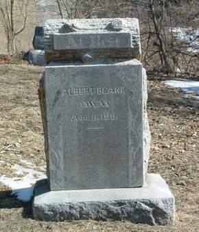 BLANK, ALBERT - Mills County, Iowa | ALBERT BLANK