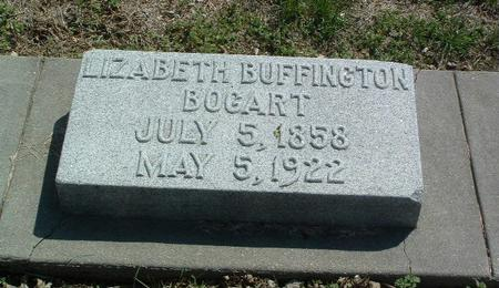 BUFFINGTON BOGART, ELIZABETH - Mills County, Iowa | ELIZABETH BUFFINGTON BOGART