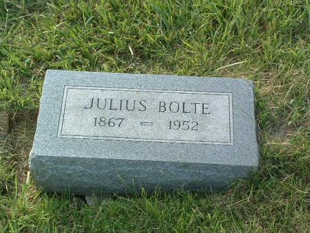 BOLTE, JULIUS - Mills County, Iowa | JULIUS BOLTE